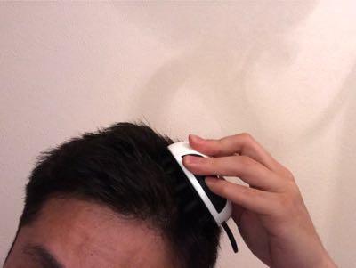 チャップアップのヘッドブラシ