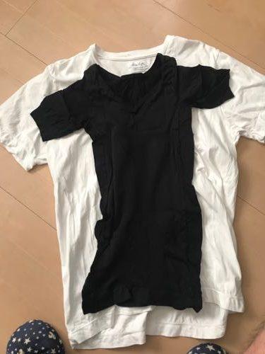 金剛筋シャツと普通のシャツを比較