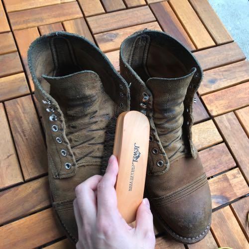 ブーツ手入れ2ブラシ